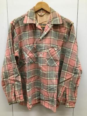50sグレピン・ウールシャツ
